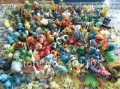 Whole sale Lots 500pcs Pokemon Action Figures 2-3cm Free Shipping
