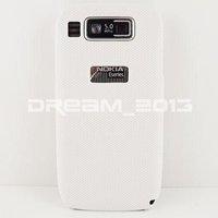 Cover For Nokia E72 New Design Mesh NET Hard Back Case Cover Skin Pouch Coating For Nokia E72 Case