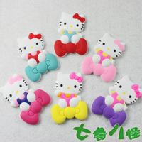 hello kitty cartoon refrigerator stickers magnets PVC soft  K T Creative  Fridge magnet   Red pink Purple yellow rose red blue