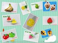 Кухонная салфетка Plum cloth placemat /Fashion dining table mat /Western pad/ coaster/Insulation felt Mats & Pads innovative items 1pc