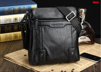 HOT! fashion men shoulder bag,men soft leather messenger bag,business bag,free shipping+Factory price #MB123