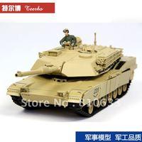 free Shipping M1A1 model metal tank toyshop