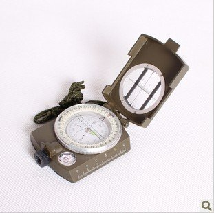 Outdoor products  American Military Fashion multifunctional compass luminous