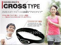 Free shipping 100pcs/lot Fashion energy Titanium Cross bracelet without retail box