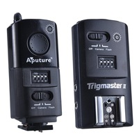 Aputure 2.4G Trigmaster II MXII-C Flash Trigger + Receiver for Canon EOS 650D 60D 600D 550D 1100D