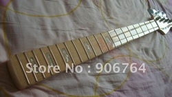 Brand new arrival jazz bass guitar neck natural maple Electric guitar finished free shipping with tuner(China (Mainland))