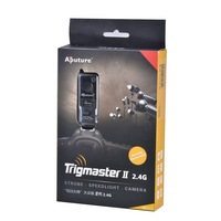Aputure 2.4G Trigmaster II MXII-S Flash Trigger + Receiver for Sony A560 A450 A350 A550 A500 A100 A77