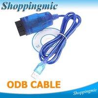 5PCS VAG K + CAN 1.4 OBD II OBD 2 USB Diagnostic tool Commander Car usb scanner auto diagnostic scanner obd 2 Free Shipping
