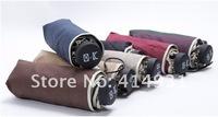 Factory Price+DHL Freeshipping+Whosale 200Pcs/lot Fifty Percent Umbrella, Rain Or Shine Amphibious Umbrella UV Umbrella