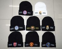 Hot selling gifts! 200pcs/lot black ,blue,grey,white soccer cap/football hat/sports cap/ more than 7 clubs free shipping by DHL