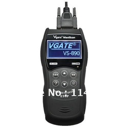 2012 newest product Vgate MAXISCAN VS890 obdii obd CODE READER SCANNER better than MS509(China (Mainland))