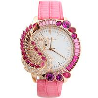 Original Brand Melissa Rhinestone Crystal Luxury Quartz Wrist Watch Luxury Goose Big Dial Decoration Excellent Quality   f11402