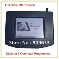 DHL Free shipping 2012 Digiprog III Odometer Programmer with Full cable the Newest Release Digiprog 3
