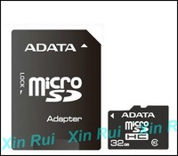 Free HK Post! &package 10pcs! ADATA 32GB Micro SD Memory Card Flash SDHC