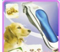 Free Shipping 1set  Hot Sale Professional Dual Blade Pet Dog Hair Clipper Trimmer805