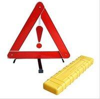 Car warning triangle rack reflective car with tripod foldable warning signs warning triangle vehicle