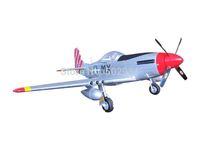 P-51D Mustang EP Mini Plane RTF 2.4G Silver
