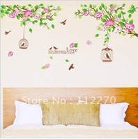 5pcs Free Shipping 60*90cm PVC New  Home/Kids Rooms DIY Decoration Wall Stickers  002001 (28)