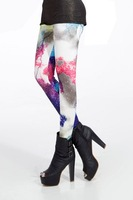 Accept Drop Ship China Post Free Shipping Galaxy Cosmic Space Leggings-LB13261
