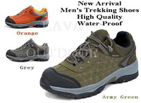Free Shipping Low Price High Quality Ultra-Light Water-Proof Breathable Fashion Men's Leather Profession Hiking Trekking Shoes