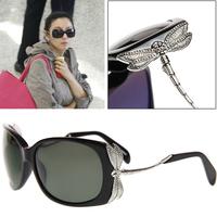2012 hot-selling ! women's sunglasses membrane polarized sunglasses darning-needle diamond glasses sunglasses