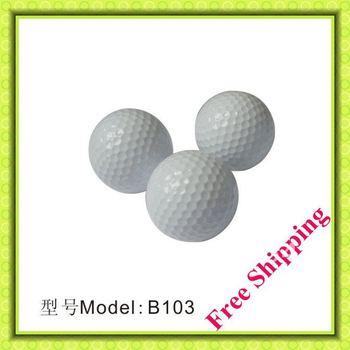 Best selling 2 piece white CHAMPIONSHIP GOLF TOURNAMENT GOLF BALL