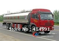 JieFang  8X4 milk tank truck   18.52m3