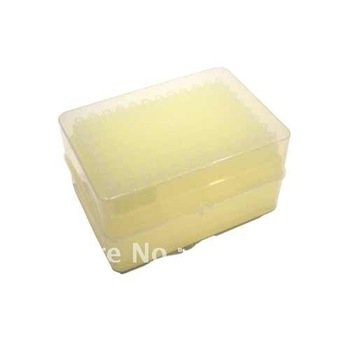 Send From US .1-10ul (31mm) Low Retention Pipette Tip for Pipetman (Hinge Rack) - Case 960