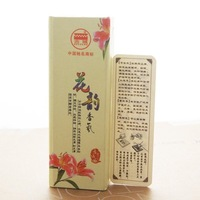 Lily incense sticks,9.4cm+25 pcs.High quality, made without bamboo for pure fragrance.Well-known Gucheng Incense.