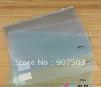 32 cute transparent study and office supplies A4 5588 right zip file packet