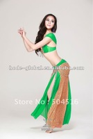 2012 newest design fashion beaded belly dance wear(QC2053)
