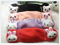 Cute Rabbit Cat Cartoon  Cold Masks Earmuff 2 in 1 Keep You No Cold 100pcs/lot