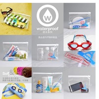 waterproof Travel small plastic bag, portable wash plastic bag ,wet towel plastic  bag 20pc/lot  free shipping