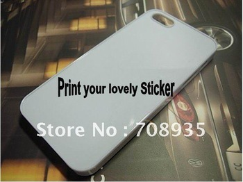 customer design sticker print DIY cases hard back mobile cell phone  for phone5 5G new arrival novelty  hot selling