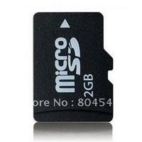 Free shipping cheap Wholesale 2GB   MicroSD 2gb microsd card HC  TF Card