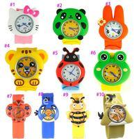 Free shipping!! Gift watch silicone slap  watch women