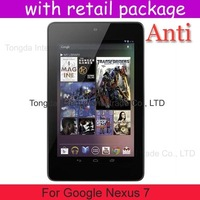 Anti-Scratch Anti Matte Glare 100x screen protector guard For Google Nexus 7,with retail pacakge,DHL shipping