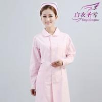 Pink winter long-sleeve nurse clothing,antibiotic work wear beauty services,nurse uniforms