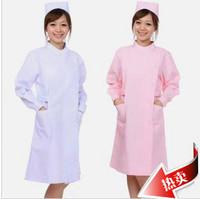 doctor nurse Nurse clothing white coat medical lab coat uniform nurse pants large