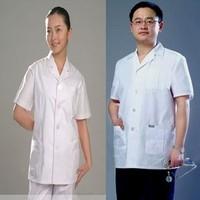 doctor nurse Summer short-sleeve physician services doctor clothing nurse clothing short-sleeve summer robes short design