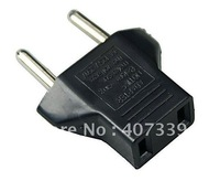 10 X US to EU AC Power Plug Travel Converter Adapter