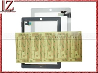 for ipad 2 touch 3M adhesive New and original Yellow MOQ 2000pic//lot shipping UPS EMS DHL FEDEX TNT 3-7day