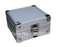 Free Shipping Small Aluminum Tattoo Machine Box Tattoo Machine Gun Case Tattoo Supply