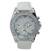 Miler Watches Women's Dress Watch Wristwatch White Xmas Gift Free Ship