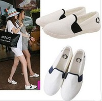 Best selling! New arrival women fashion flats flower nurse canvas shoes Free shipping 1pair