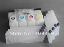Empty bulk ink system with permanent chip for Mimaki JV33 SS21 printer ( 4tanks+8 cartridges+ 8 permanent chip)