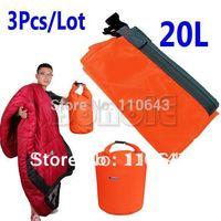 Cheap 3Pcs/Lot 20L Canoe Rafting Camping Waterproof Dry Bag Size  Dropshipping B16 5754