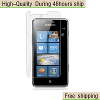 New Screen Protector  with Retail Package Clear Samsung Galaxy Omnia M S7530 yf22 Free Shipping DHL UPS EMS HKPAM CPAM