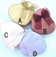 Free Shipping 30pcs/lot 7x6x3cm Jewelry Packaging Ring & Earring Necklace Set Gift Box BX13*