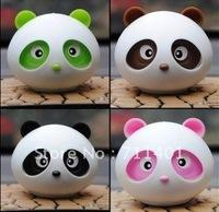 Free shipping factory wholesale hot selling Panda car/home use  perfume air freshener 4 kind of perfume 4pcs/lot